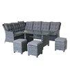 Magari 6 Piece Deep Seating Group with Cushion