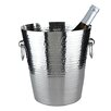 Viski Admiral Hammered Metal Ice Bucket