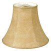 """Royal Designs 8"""" Timeless Faux Leather True Bell Lamp Shade"""