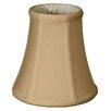 "Royal Designs 6"" Timeless Silk True Bell Lamp Shade"