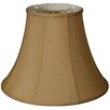 "Royal Designs 8"" Timeless Silk True Bell Lamp Shade"