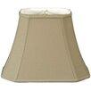"Royal Designs 14"" Timeless Linen Rectangular Lamp Shade"