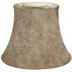 """Royal Designs 18"""" Timeless Faux Leather Bell Lamp Shade"""