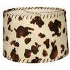 "Royal Designs 10"" Timeless Linen Shallow Drum Lamp Shade"