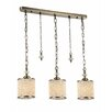 Maytoni Chandeliers Fusion Sherborn 3 Light Kitchen Island Pendant