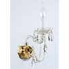 Maytoni Chandeliers Diamant Crystal Beatrix 1 Light Wall Light