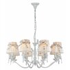 Maytoni Chandeliers Elegant Bird 8 Light MIni Chandelier