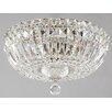 Maytoni Chandeliers Diamant Crystal Basfor 3 Light Flush Ceiling Light