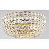 Maytoni Chandeliers Diamant Crystal Basfor 2 Light Flush Ceiling Light