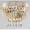 Maytoni Chandeliers Diamant Crystal Basfor 2 Light Flush Ceiling Light