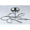 Maytoni Chandeliers Infinity 6 Light Semi-Flush Ceiling Light