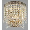 Maytoni Chandeliers Diamant Crystal Fabric 1 Light Wall Light