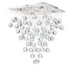 Maytoni Chandeliers Swirl 5 Light Semi-Flush Ceiling Light