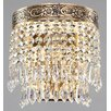 Maytoni Chandeliers Diamant Crystal Palace 1 Light Wall Light
