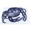 Cream Cornwall Crab Worktop Saver