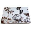Cream Cornwall Hare Coaster