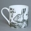 Cream Cornwall Game and Garden Hare Mug