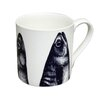 Cream Cornwall Maritime Mackerel Heads Mug