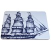 Cream Cornwall Packet Ship Placemat