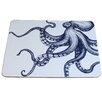 Cream Cornwall Octopus Coaster