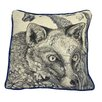 Cream Cornwall Fox Scatter Cushion