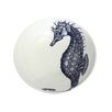 Cream Cornwall Maritime Seahorse Cereal Bowl