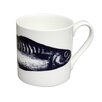 Cream Cornwall Maritime Single Mackerel Mug