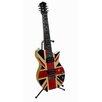 KMP GIFTS British Flag Electric Guitar Piggy Bank