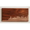 Dave Marcoullier Wood Routings City Skylines Solid Walnut San Francisco Skyline Routing Wall Art