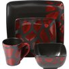 Design Guild Safari Giraffe 16 Piece Dinnerware Set