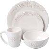 Design Guild Bianca Laurel 16 Piece Dinnerware Set