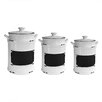Design Guild 3 Piece Vintage Canister Set