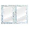 Massivum White Lagoon 70 x 50cm Mirror Cabinet