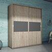 Fábrica de Muebles Torres 2 Door Wardrobe with Sliding Doors