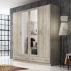 Fábrica de Muebles Torres 4 Door Wardrobe with Mirror