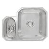 Astracast Sorrel 58cm x 45cm 1.5B Undermount LHD Kitchen Sink