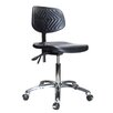 """Perch Chairs & Stools 12"""" Industrial Chair with Adjustable Height"""
