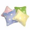 Satin Mill Gom Velboa Star Throw Pillow
