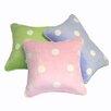 Satin Mill Gom Velboa Dot Throw Pillow