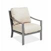 AMS Outdoor Chevron Club Chair with Cushion