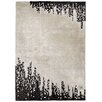 Guy Laroche Harlem Hand-Tufted Black/White Area Rug