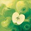 "DEInternationalGraphics ""Äpfel"" von Inna Panasenko, Kunstdruck"