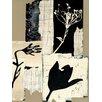 """DEInternationalGraphics """"Arnica montana"""" von Marie Madeleine Noiseux, Kunstdruck"""