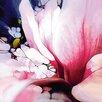 """DEInternationalGraphics Acrylglasbild """"Magnolie"""" von Renate M. Schmidt, Kunstdruck"""