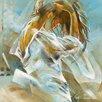 DEInternationalGraphics Ocean Breeze II Kunstdruck von Kitty Meijering