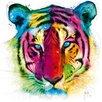 """DEInternationalGraphics """"Tiger Pop"""" von Patrice Murciano, Kunstdruck"""
