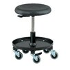 BEVCO Bevco Height Adjustable Stool with Rubber Wheel Casters