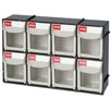 SHUTER 8-Compartment Tip Out Bin
