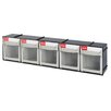SHUTER 5-Compartment Tip Out Bin