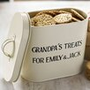 Jonnys Sister Grandpa's Treats Small Enamel Tin